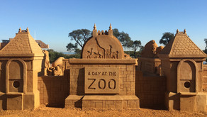 Summer Sand Sculpture Fun in Streaky Bay