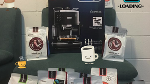 Congrats to our Coffee Machine Winner!