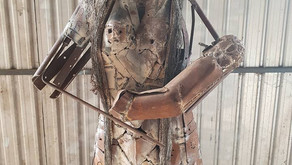 Local Artist Looking to Donate Sculpture to Drought Affected Town