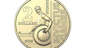 New $2 Coin Celebrates Invictus Games Sydney 2018
