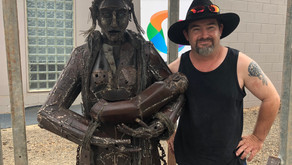 Drought sculpture finds Mallee home