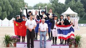 Aussie Junior Jumpers Win Gold in Beijing
