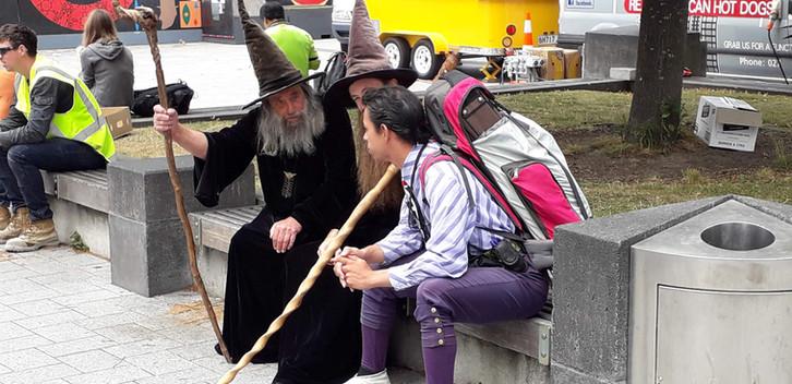 den Christchurch Wizard gibt es noch ....