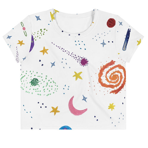 FIND SPACE Crop Tee