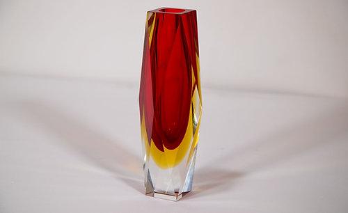 Murano Red Vase