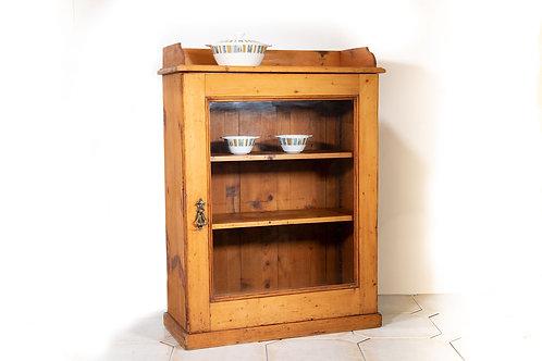 Old pine display case.