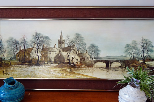 Varnished Print of Hamlet Bridge by Ron Folland