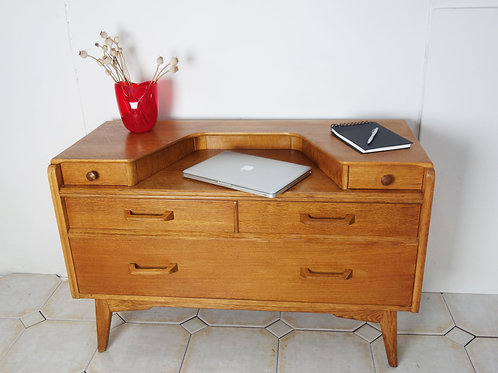 G Plan E Gomme Oak dressing table/desk from around 1950,s