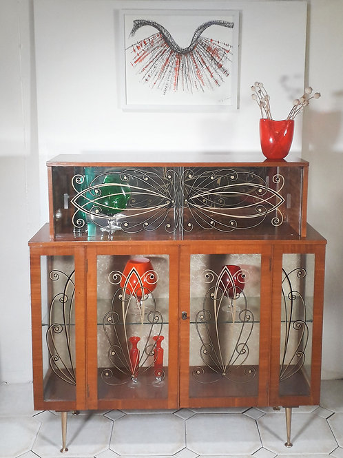 1950's display cabinet.