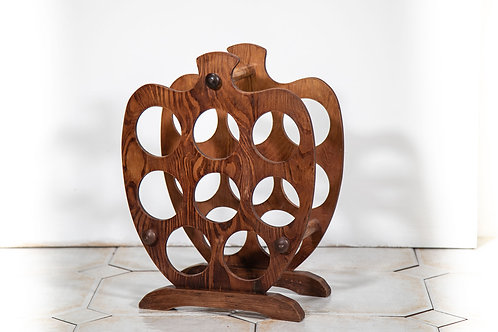 Wooden apple  wine rack
