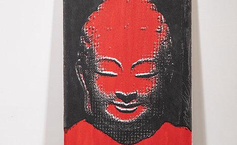 Screen print Buddha