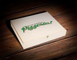 PIZZA BOX & LOGO