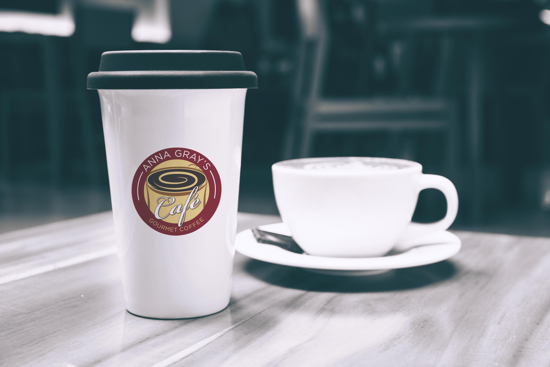 ANNA GRAY CAFE LOGO