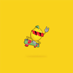 Sick Lemon Mascot