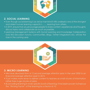 4 Learning & Development Trends to Adopt in 2019!