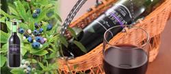 ブルーベリーワイン 720ml 1,800円