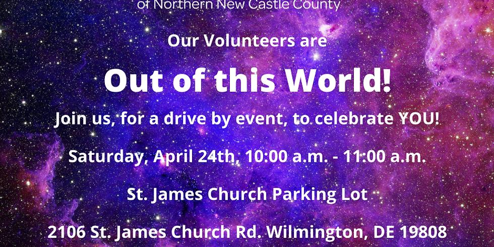 Volunteer Appreciation Drive By