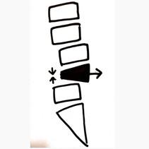 事例紹介 S様の腰痛 ④ ~腰椎の後ろへのズレ~