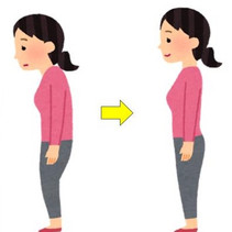 How long dose it take to correct the posture?