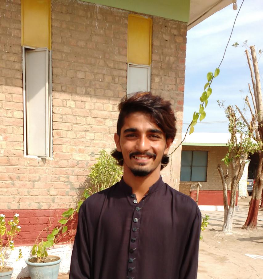 Batraj spoke of how God had changed his life. St. John's School Boys' Hostel, Mirpurkhas.