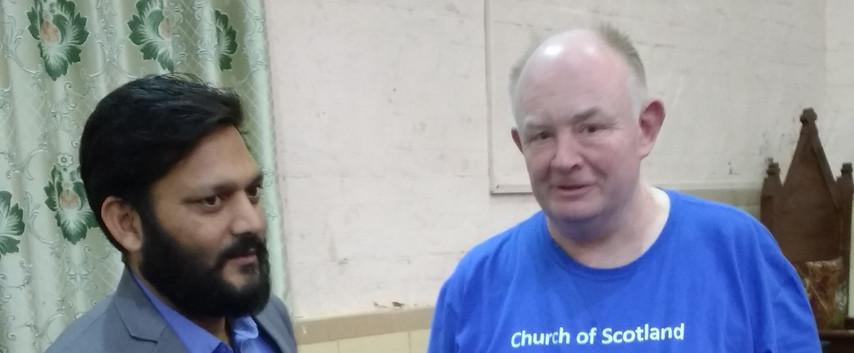 St. Saviour's Church, Sukkur. Mr Kashif Sohail, hospital administrator.