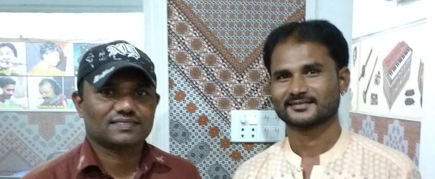 Diocese Audio Visual Centre. Sound engineers Nathanael & Mavo