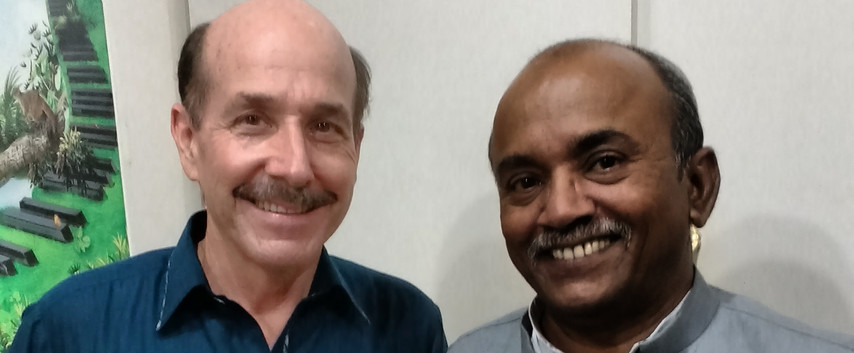Diocese Audio Visual Centre. Rev. Paul Stock & writer Shamoon Samuel