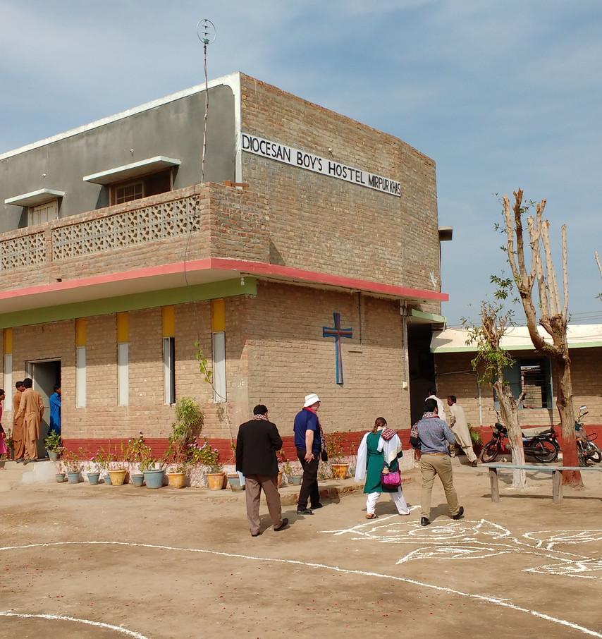 St. John's School Boys' Hostel, Mirpurkhas.