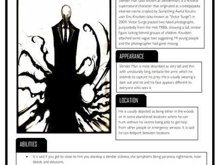 Urban Myths - Slender Man