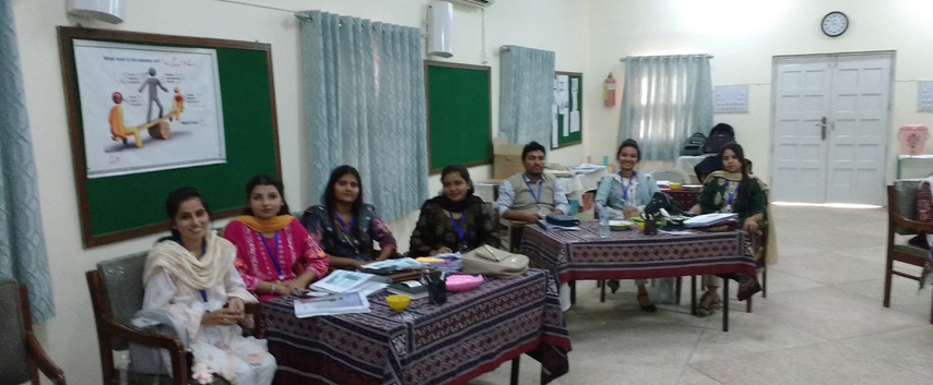 Youth Development Training Session