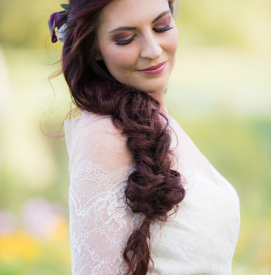 Victoria on her wedding day