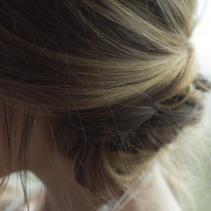 Hair up 13