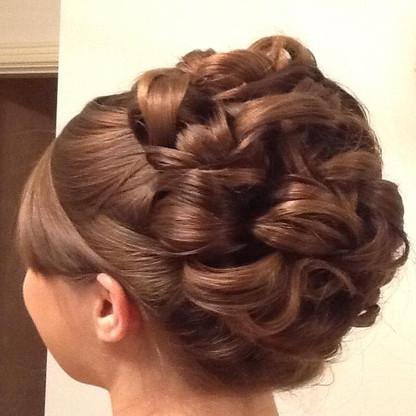 Hair up 7