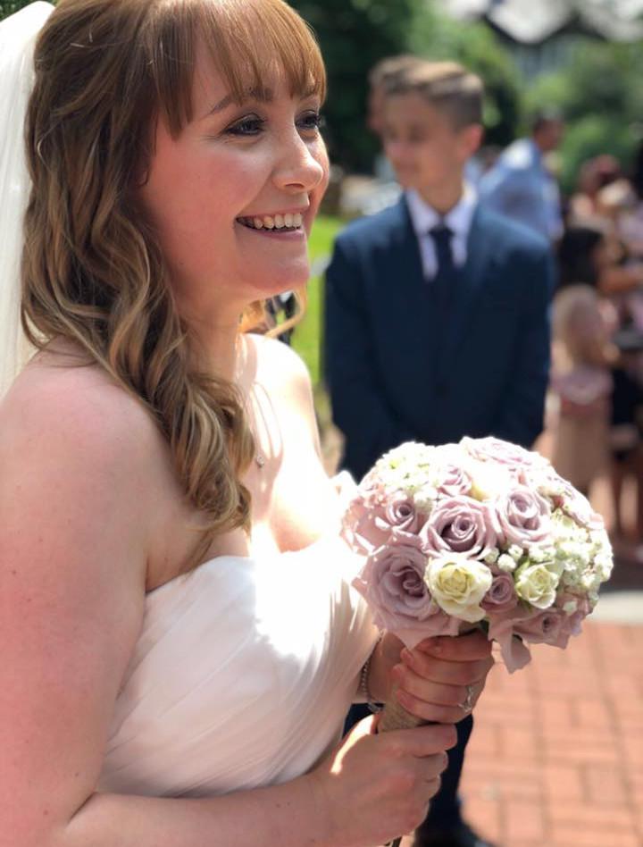 Beautiful Bride Sarah