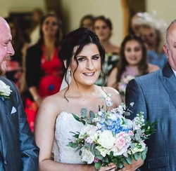 Our Zoe saying her I do's