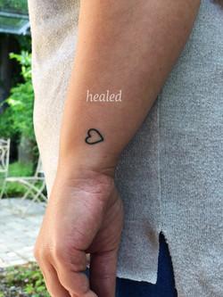 healed up