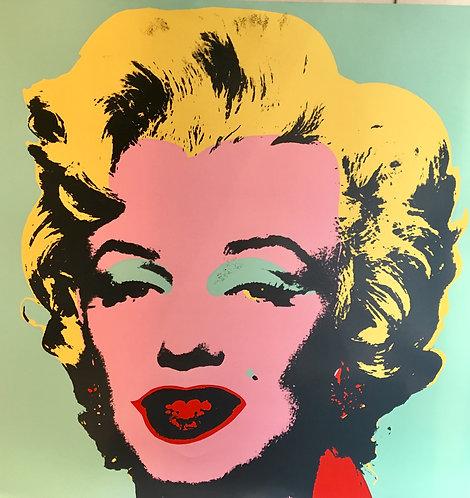 Andy WARHOL (1928-1987) Marylin Monroe Sérigraphie,