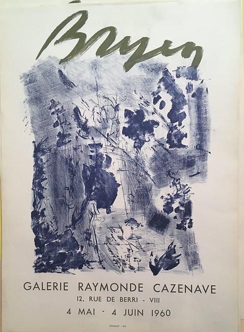Camille Bryen, original poster, chez ART-limited , agnes thiebault