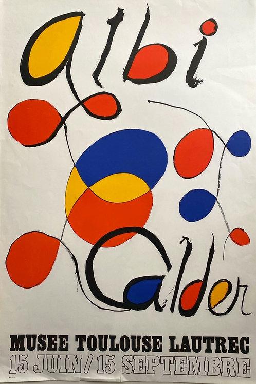 Alexander CALDER Albi Affiche, 1971 Arte Paris / Maeght Editeur, owner agnes thiebault