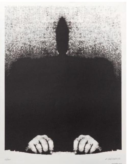 Roman Cieslewicz, original print ,chez ART-limited , agnes thiebault