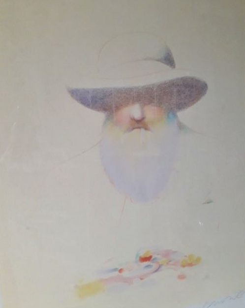 Milton Glaser original print  ,chez ART-limited , agnes thiebault
