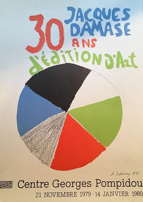 Sonia Delaunay  original print  ,chez ART-limited , agnes thiebault