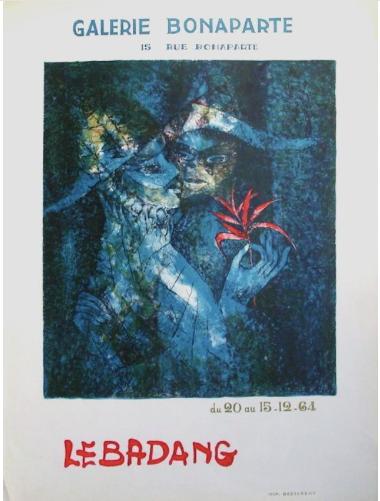 Dang Lebadang original print  ,chez ART-limited , agnes thiebault