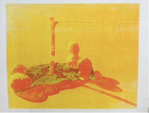 Jean LE GAC (né en 1936) Sans titre Lithographie