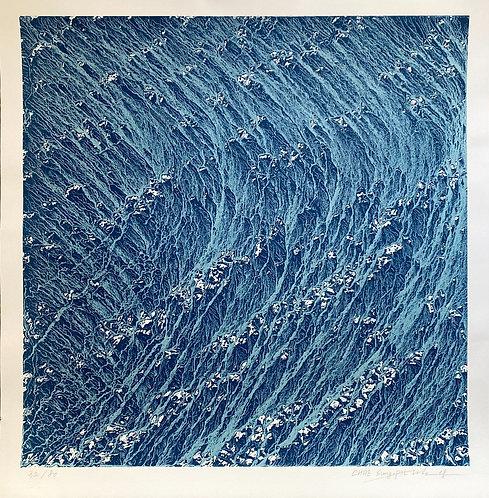 Chae Sung-Pil, original print ,chez ART-limited , agnes thiebault