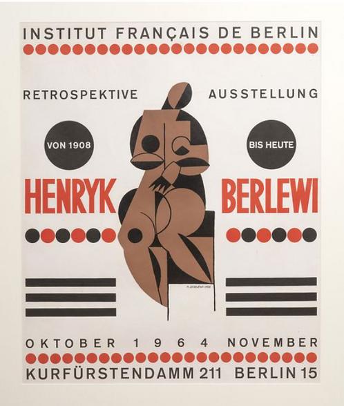 Henryk Berlewi , original print, chez ART-limited , agnes thiebault