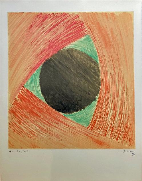 Léopold SURVAGE (1879-1968) Rythme coloré 1969 Lithographie en couleurs signée, à la galerie agnes thiebault, paris