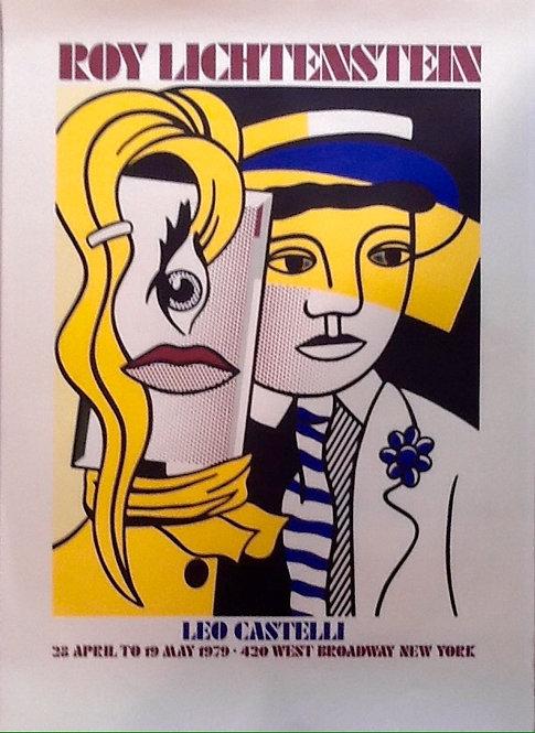Roy Lichtenstein original print  ,chez ART-limited , agnes thiebault