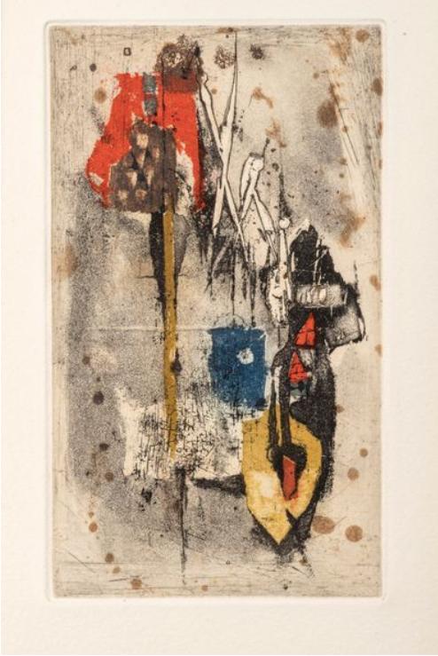 Johnny FRIEDLANDER original print  ,chez ART-limited , agnes thiebault