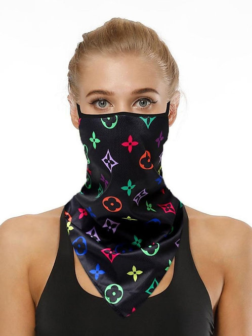 Stretch Over Head Mask with Scarf